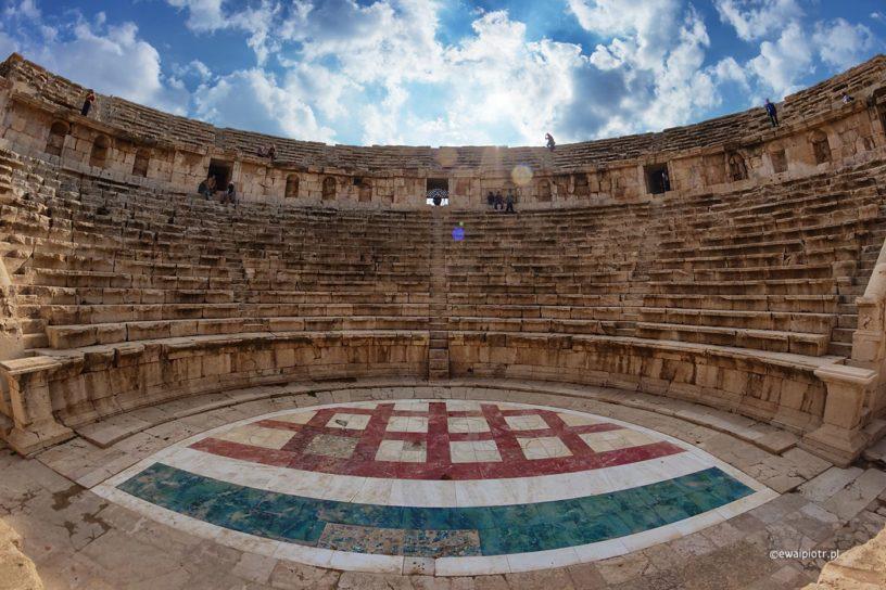 Amfiteatr w Dżerasz, Jordania