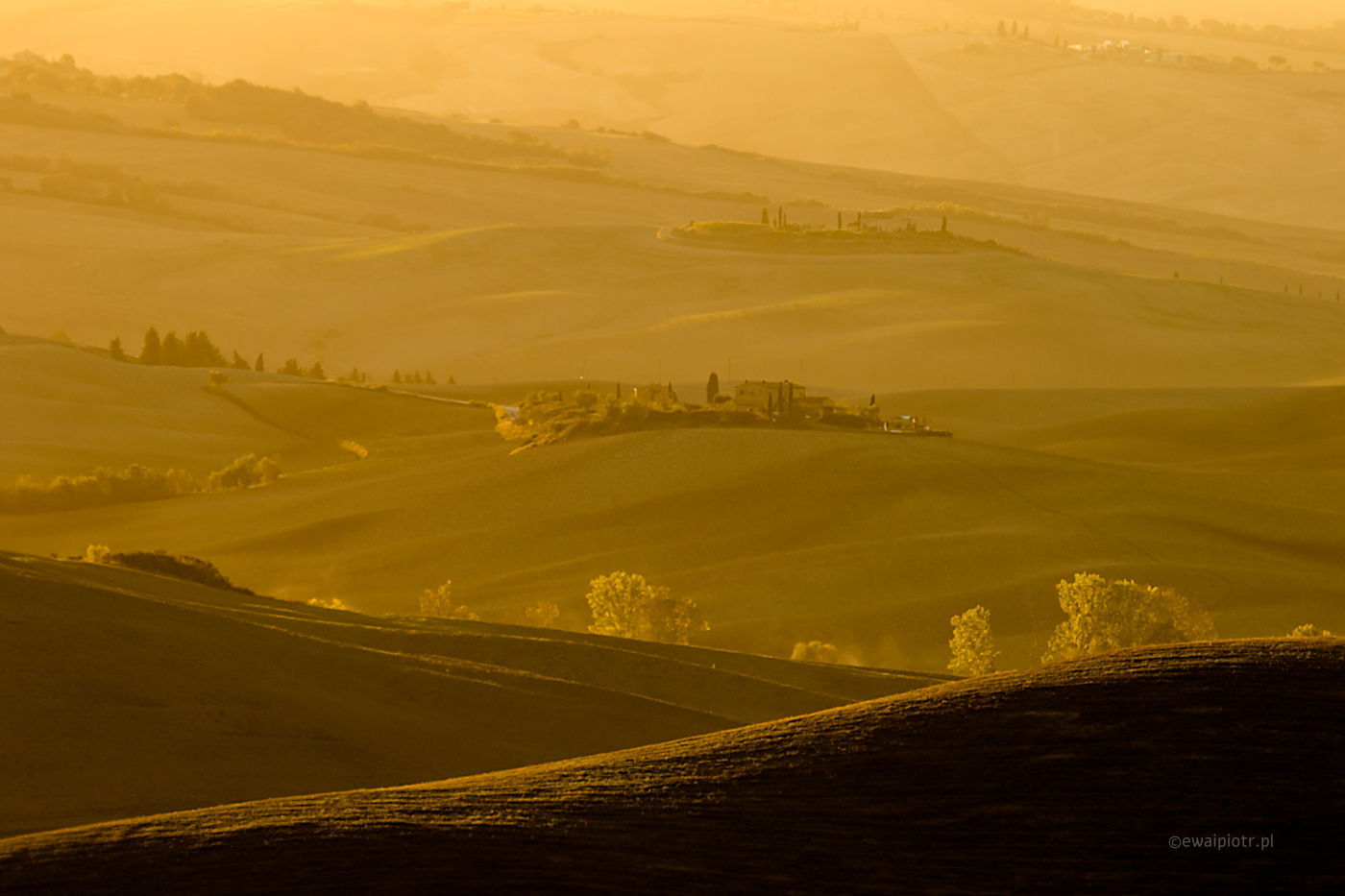 Wzgórza Toskanii, jak wybrać plener fotograficzny, plener otwarty czy punkt widokowy