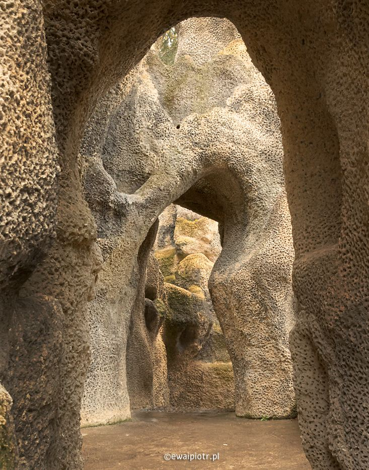Grebovka, Praga, kamienny labirynt