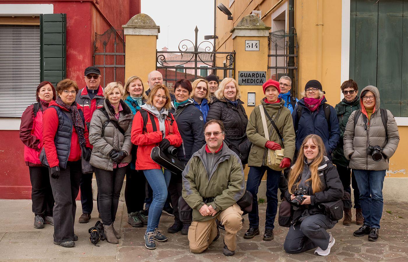 Uczestnicy wyprawy foto Weneckie Marzenie 2020