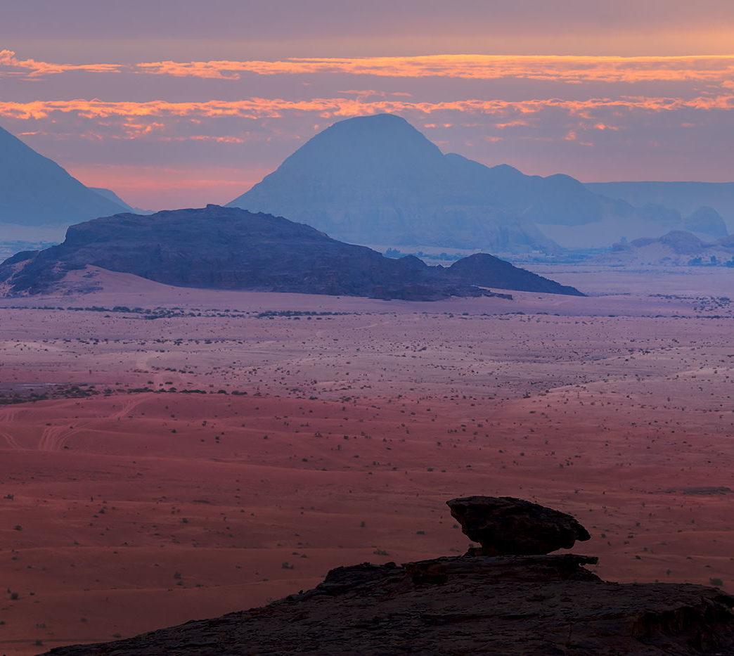 Wszystkie odcienie Wadi Rum, Jordania, fotowyprawa