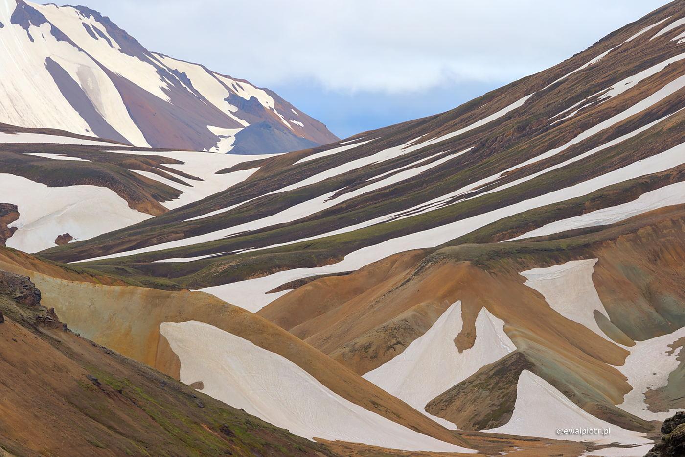 Landmannalaugar w paski, Islandia, jak podróżować po koronawirusie samolotem