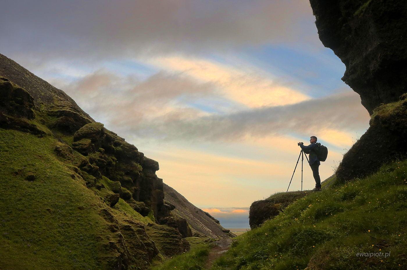 Islandia jednego człowieka, cykl, warsztaty fotograficzne