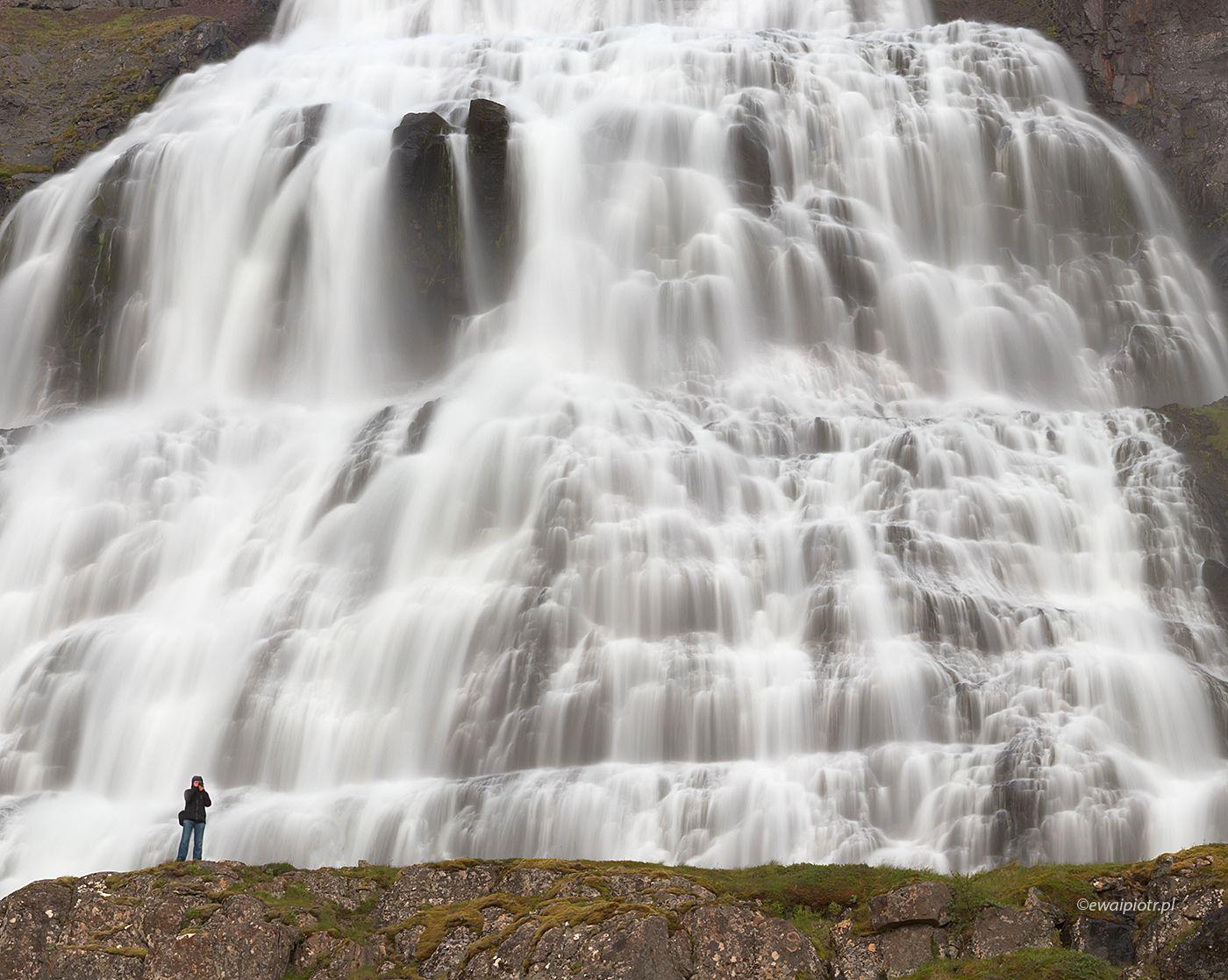 Wodospad Dynjandi, Islandia