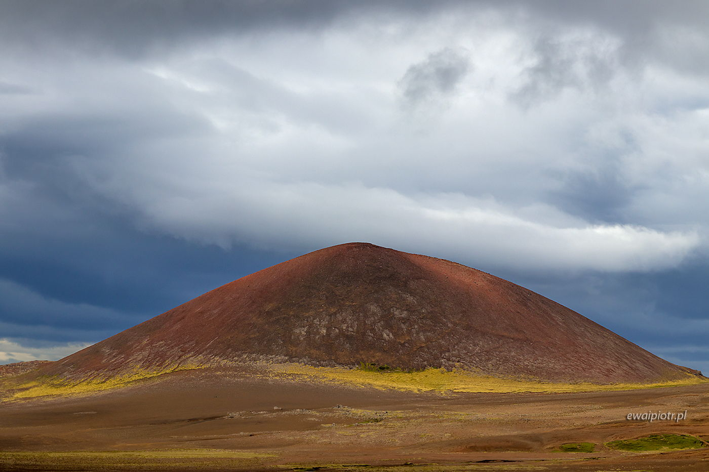 Wulkan na przylądku Snaefelsness, Islandia