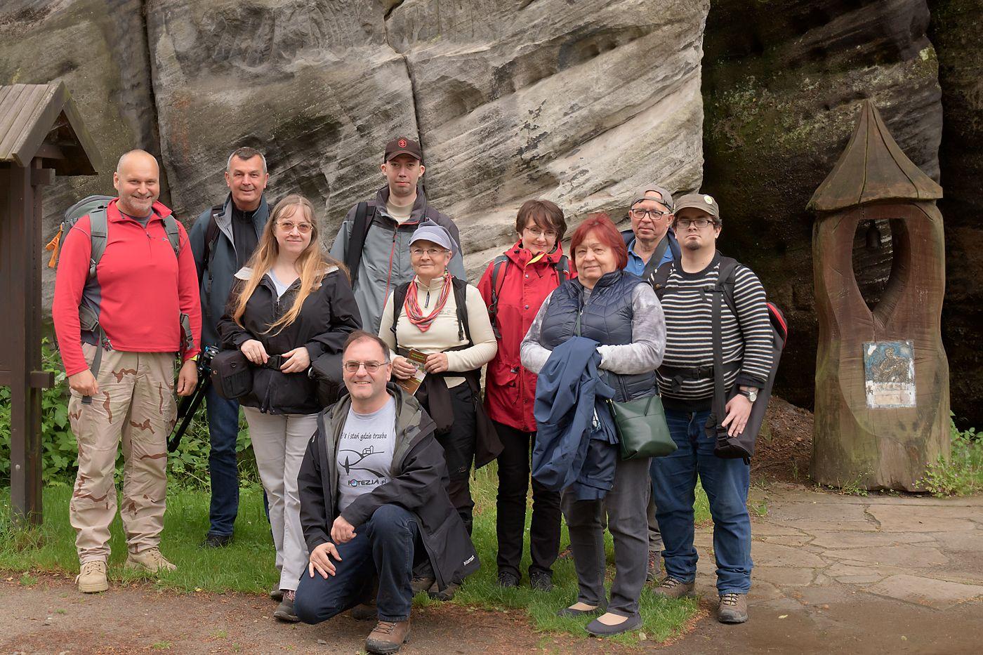 Uczestnicy warsztatów fotograficznych Skalne Labirynty 2020