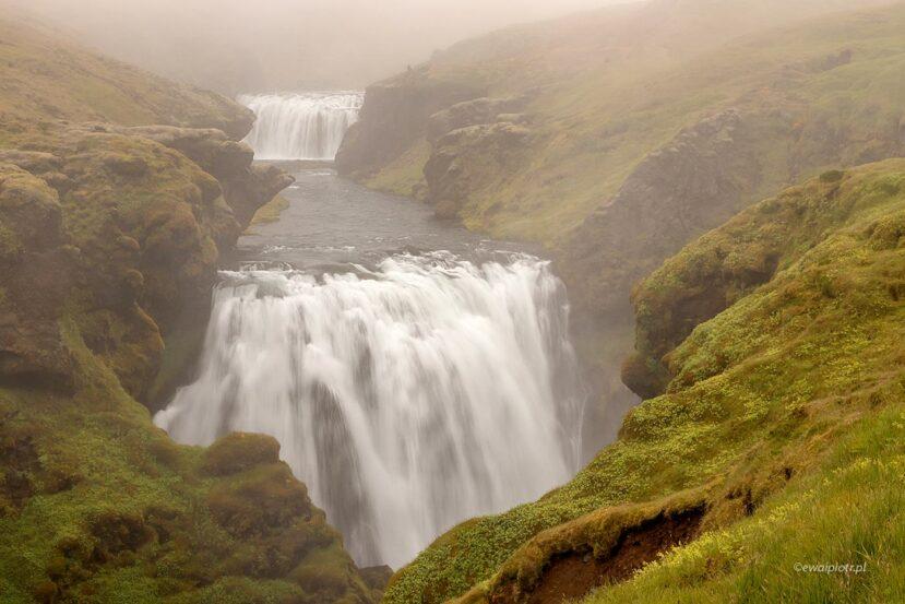 Wodospad Fremri-Fellsfoss, Islandia