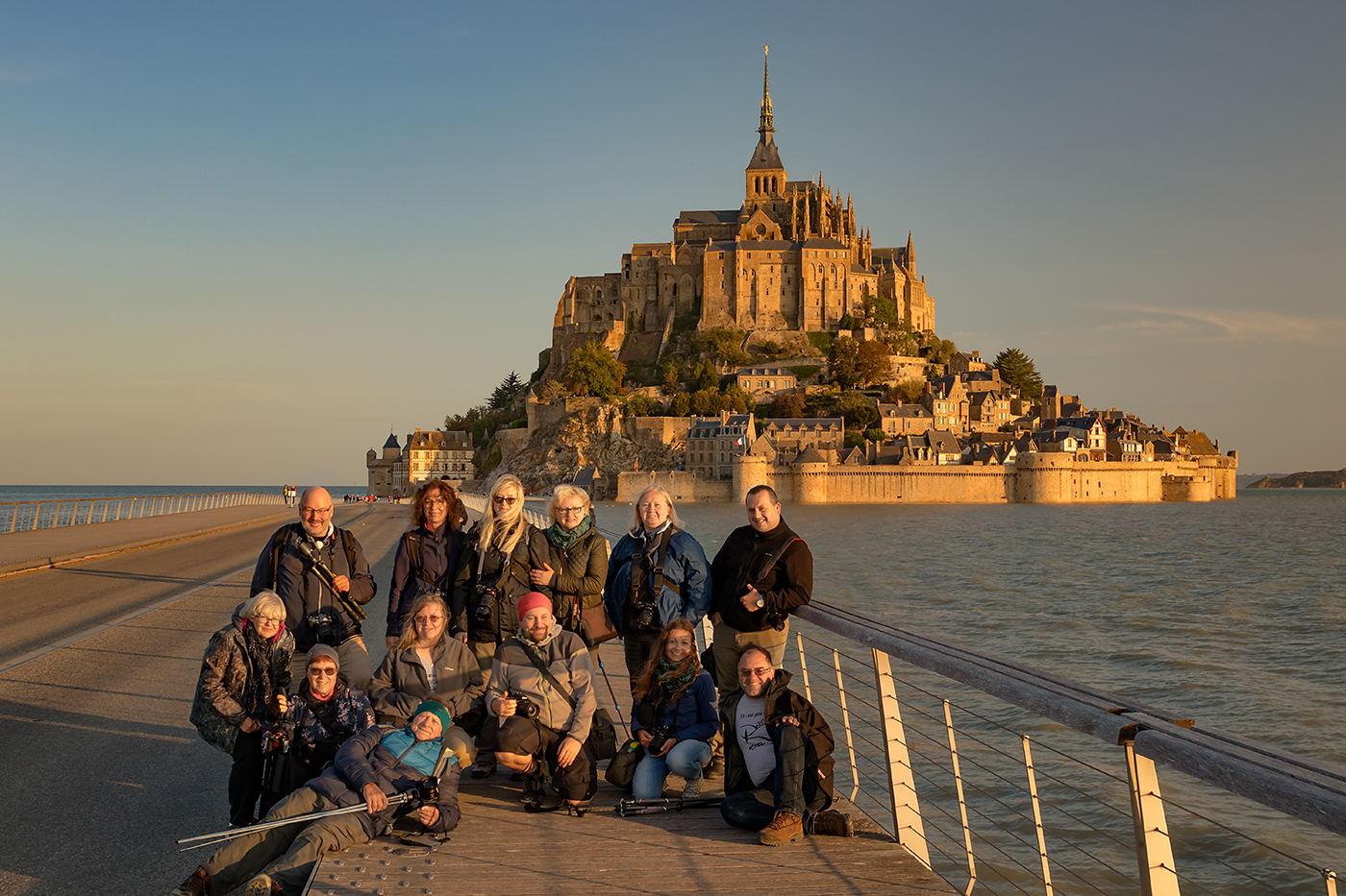 Uczestnicy fotowyprawy Bretońskie Opowieści 2020