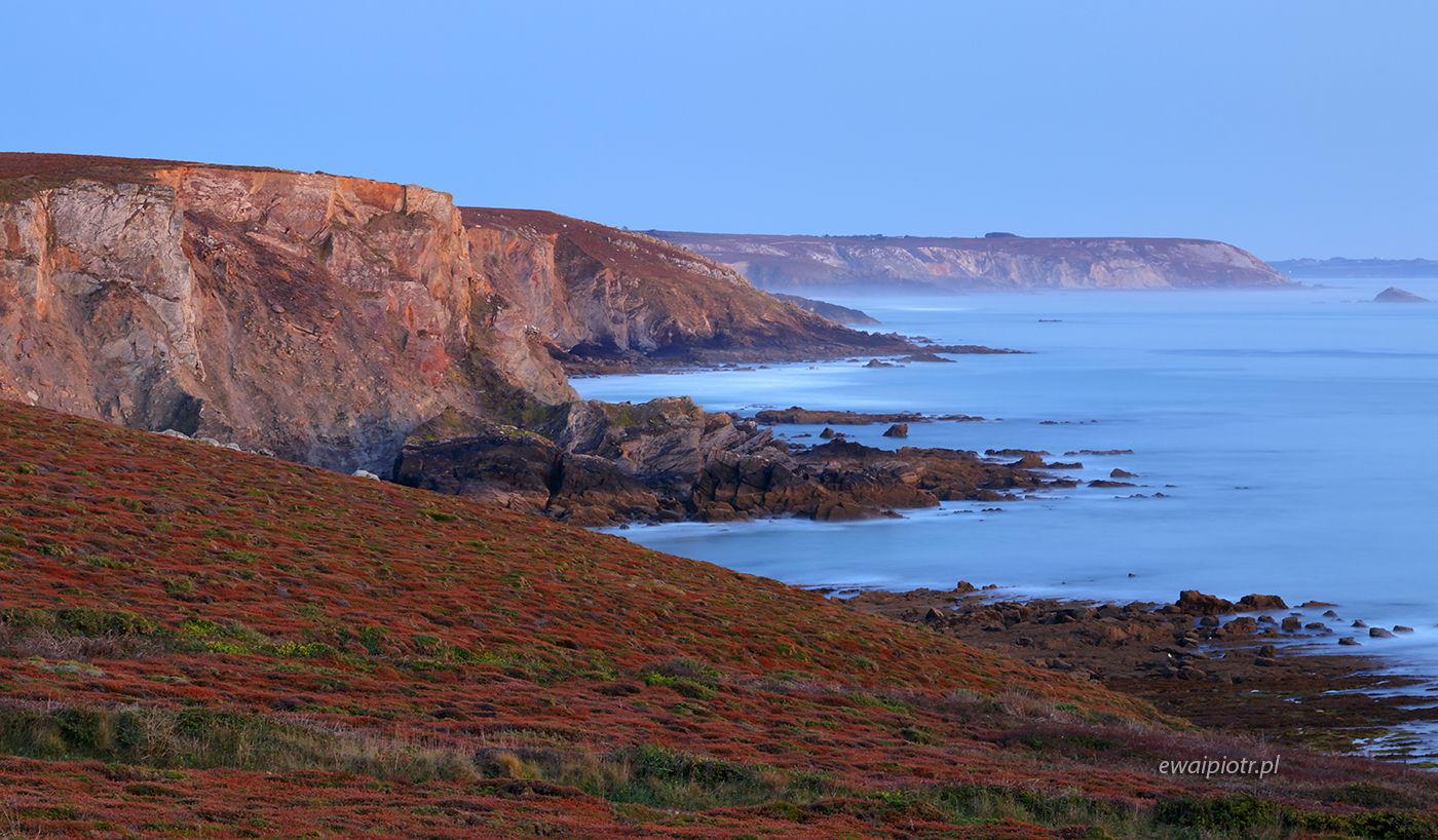 Klify Pointe de Dinan, Bretania, fotowyprawa