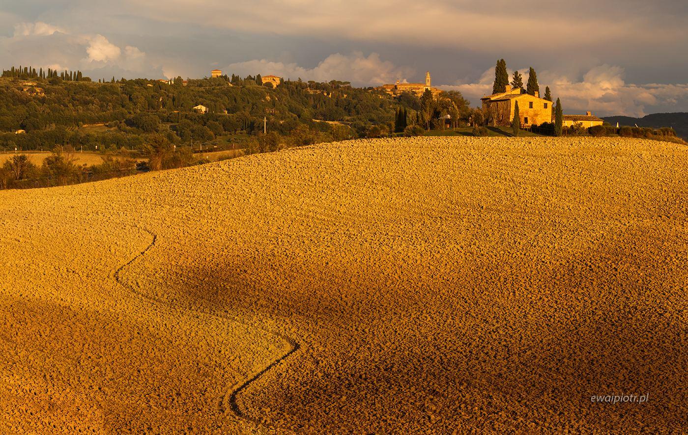 Zygzak i willa w Toskanii, Toskania, warsztaty fotograficzne, jesień