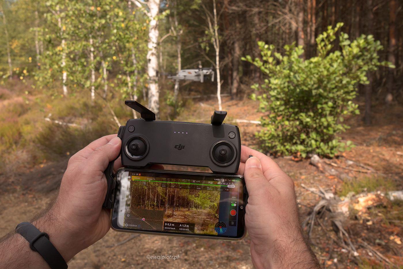 Mavic Mini i Dronelink, jaka aplikacja zamiast DJI Fly, apka dla drona