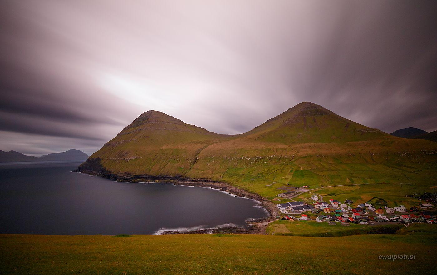 Panorama Gjogv, Wyspy Owcze