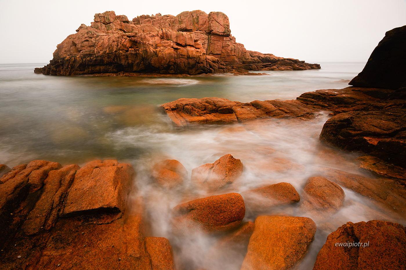Pomarańczowa wyspa, Bretania, fotowyprawa