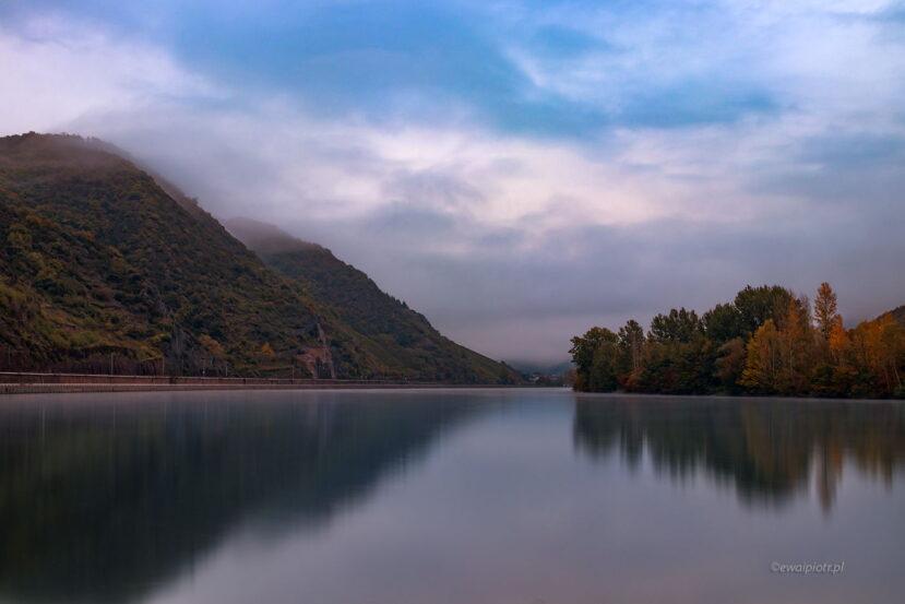 Mozela, fotowyprawa Złoto Renu, niebo
