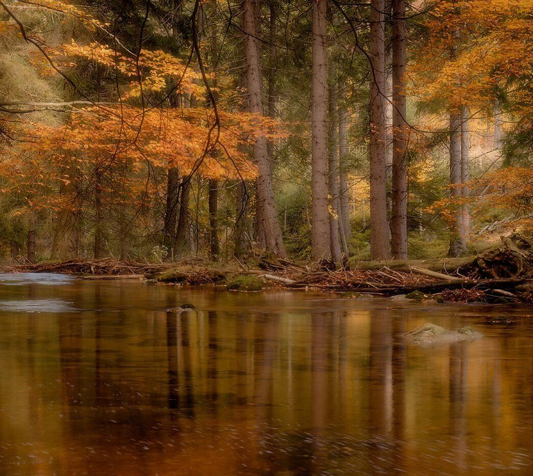 Jesiennie nad Szklarką