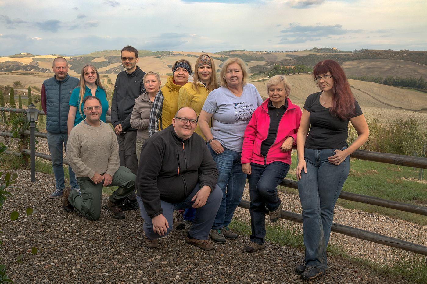 Uczestnicy fotowyprawy do Toskanii 2020