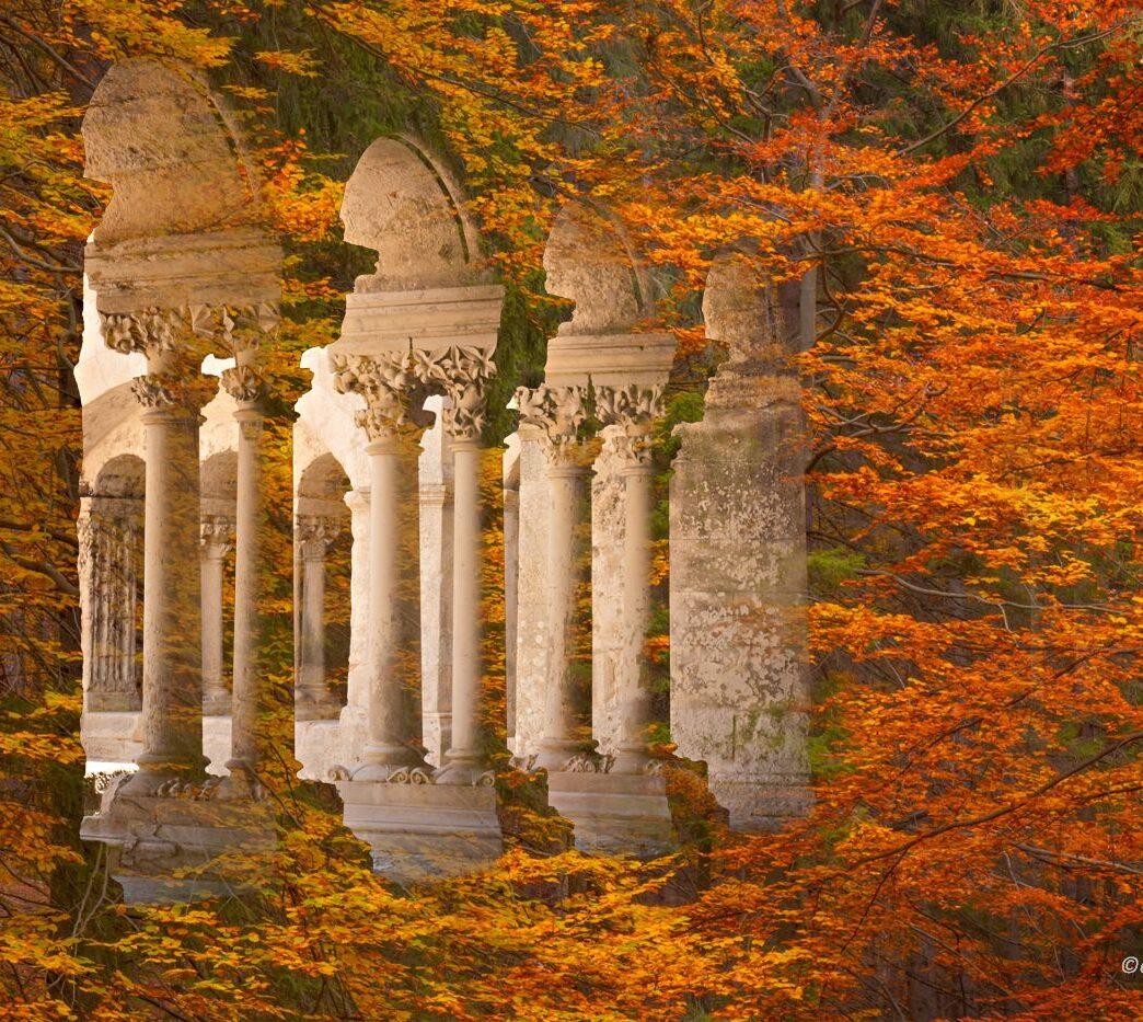 Jesień średniowiecza, fotomontaż