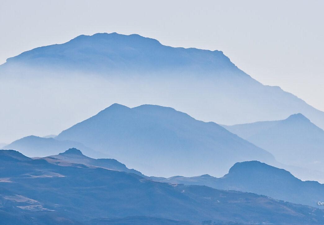 Błękitne Lefka Ori, Kreta, jaki teleobiektyw do fotografowania w górach