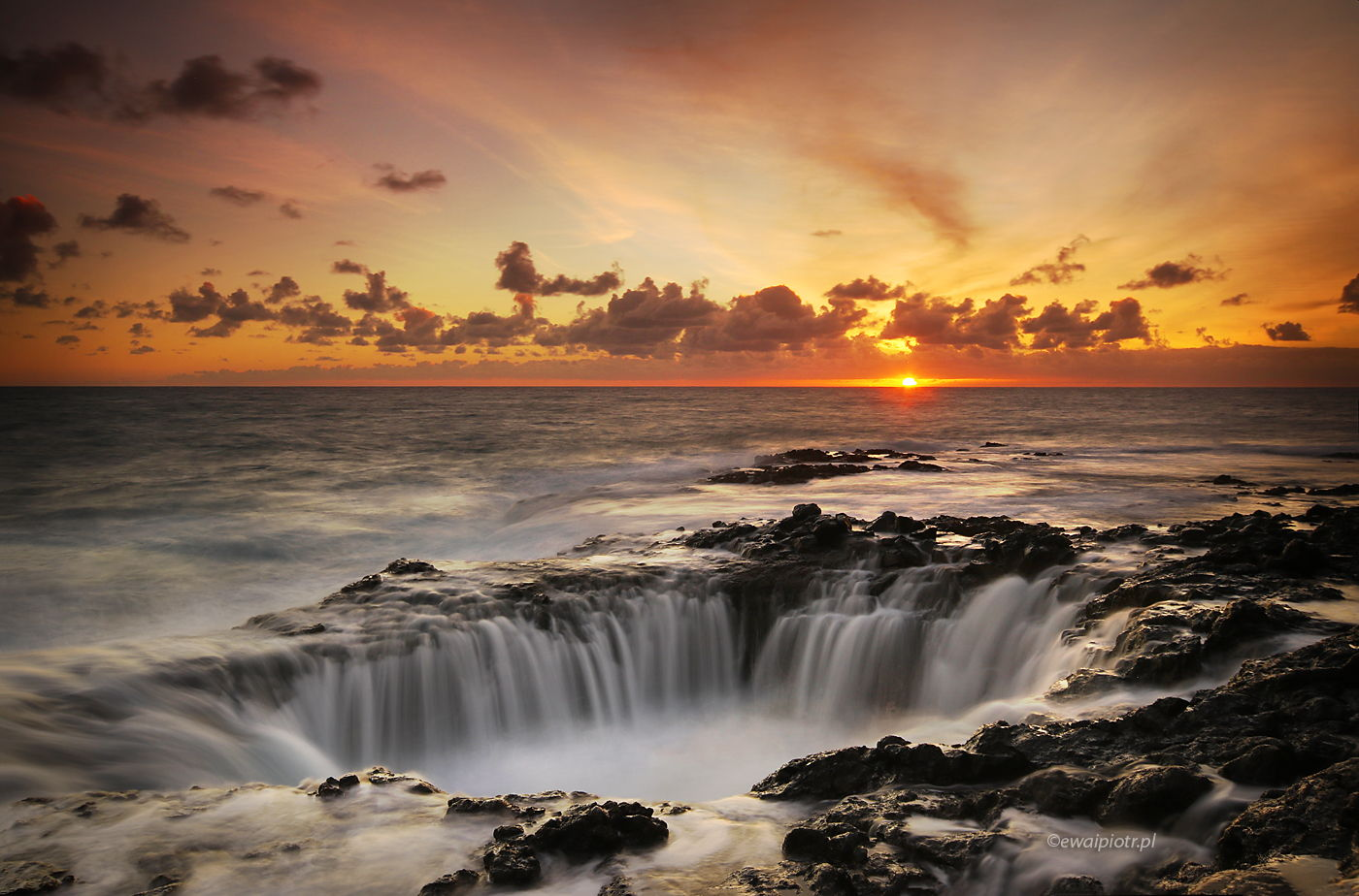 Prawie jak Studnia Thora, wschód słońca
