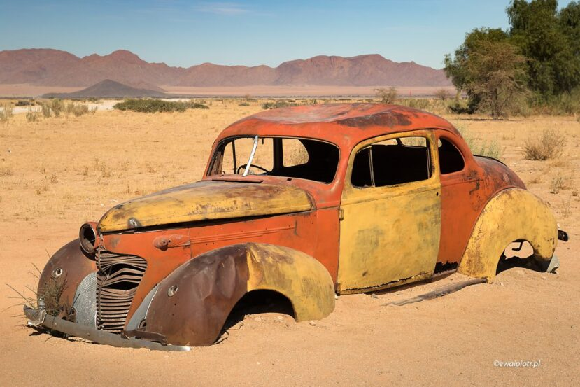 Starość samochodu, Namibia