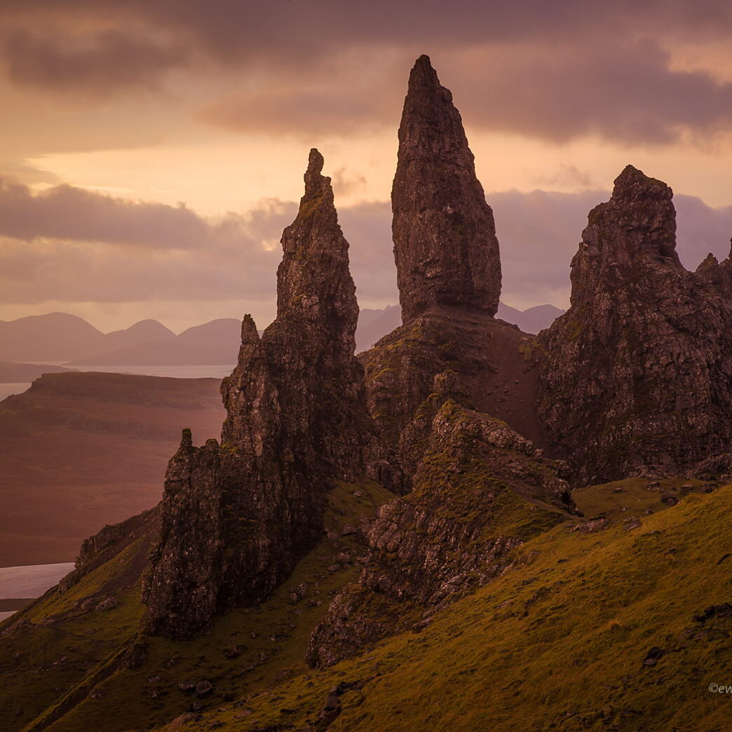 Old Man of Storr, Szkocja, Hasselblad X1D