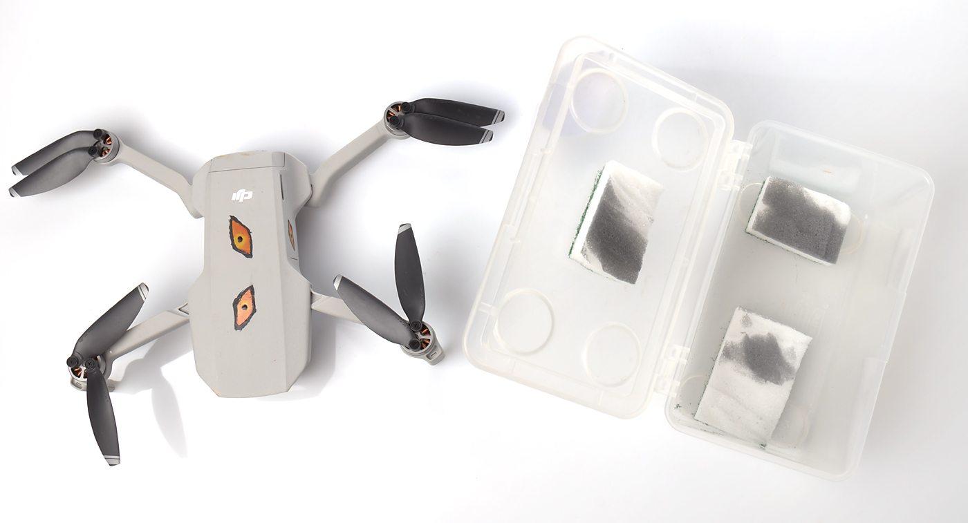 Pudełko na drona, Jak transportować drona, zrób to sam