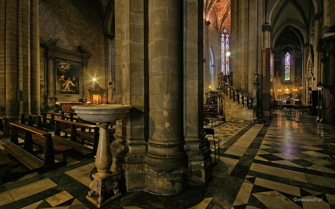 Karedra w Arrezzo, Toskania, technika HDR
