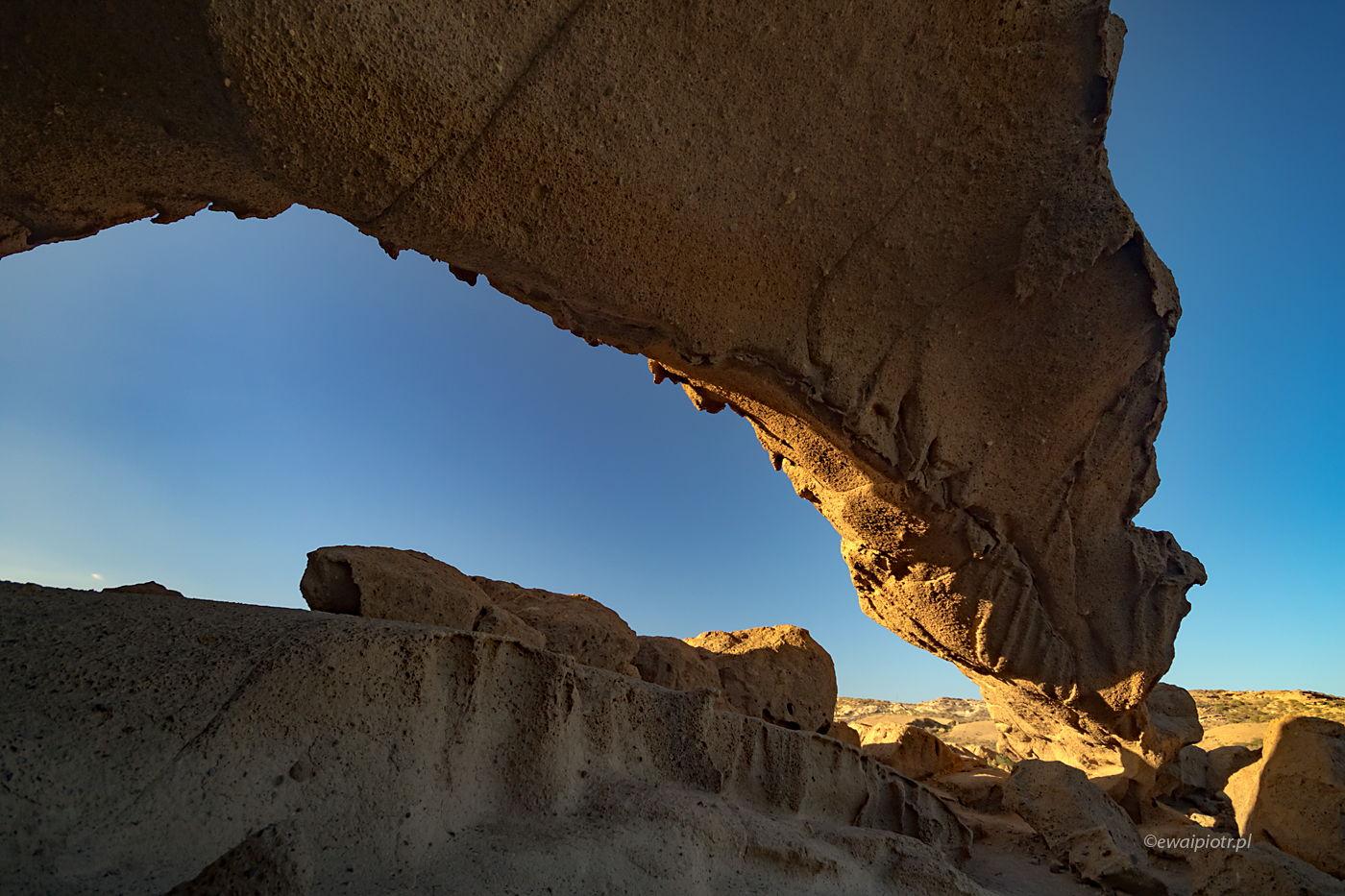 Skalny łuk, Teneryfa, Wyspy Kanaryjskie