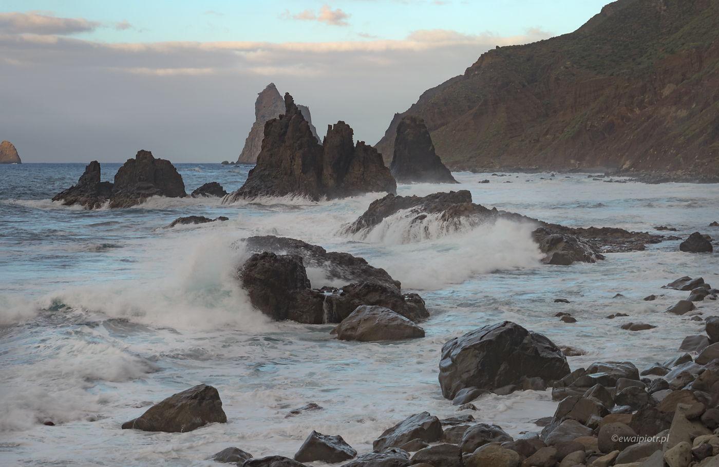 Najładniejsza plaża dla fotografów, Teneryfa, Wyspy Kanaryjskie