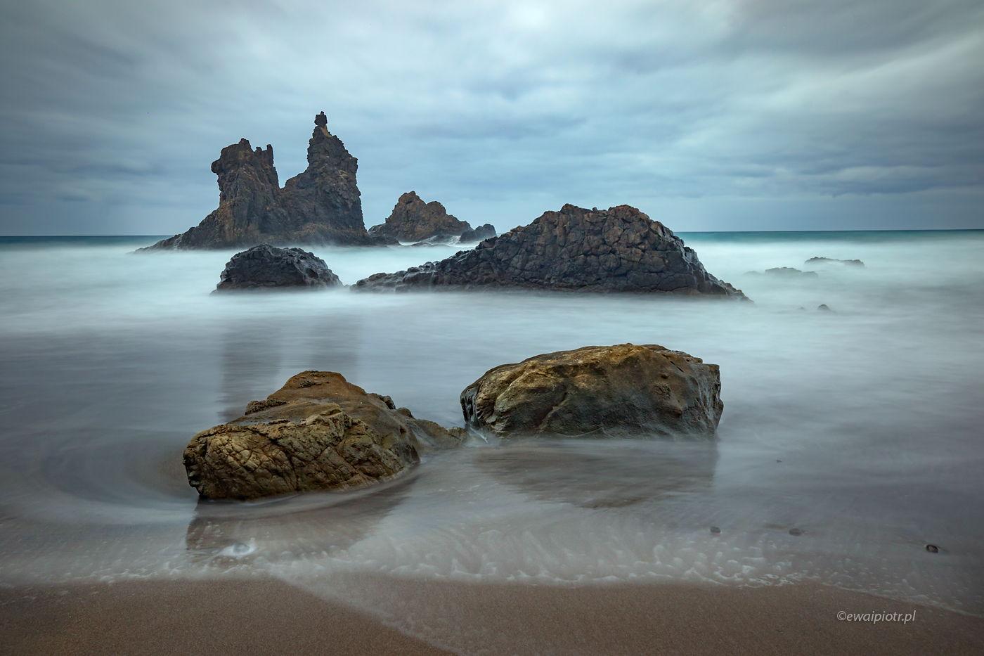 Najlepsza plaża dla fotografa, Teneryfa, Wyspy Kanaryjskie