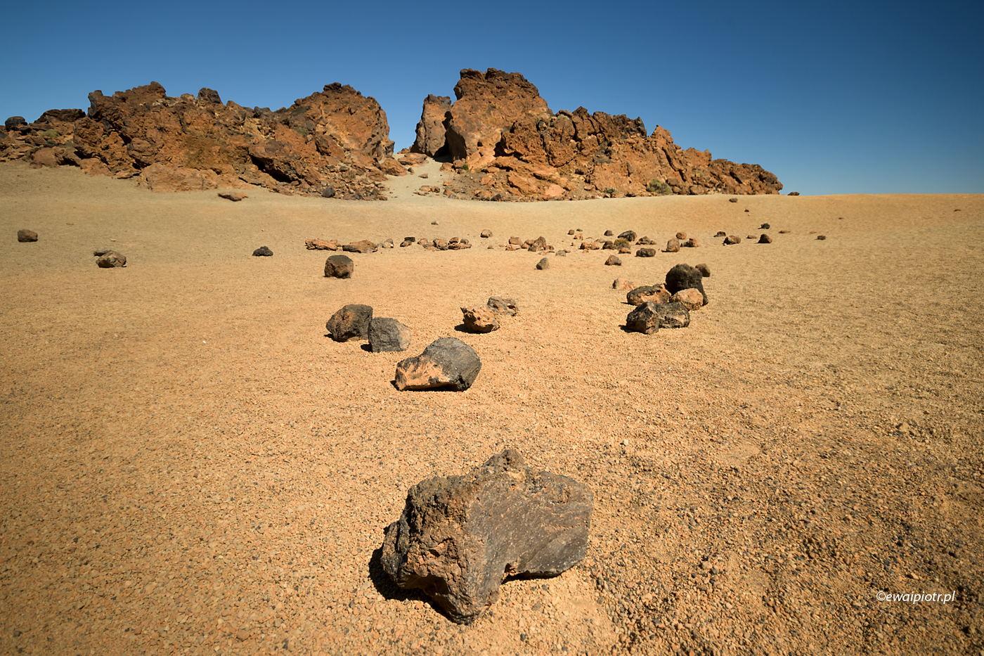 Marsjańskie klimaty, Teneryfa, Wyspy Kanaryjskie, wulkan Teide