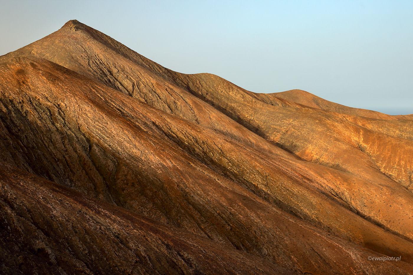 Falujące zbocza Fuerteventury, Wyspy Kanaryjskie