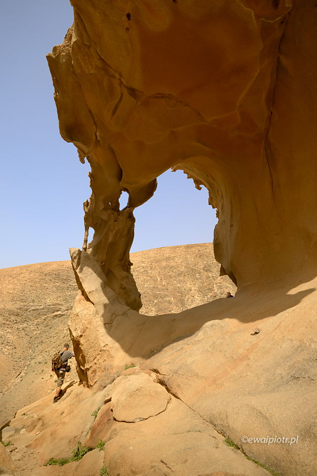Arches de las Penitas, Fuerteventura, Wyspy Kanaryjskie