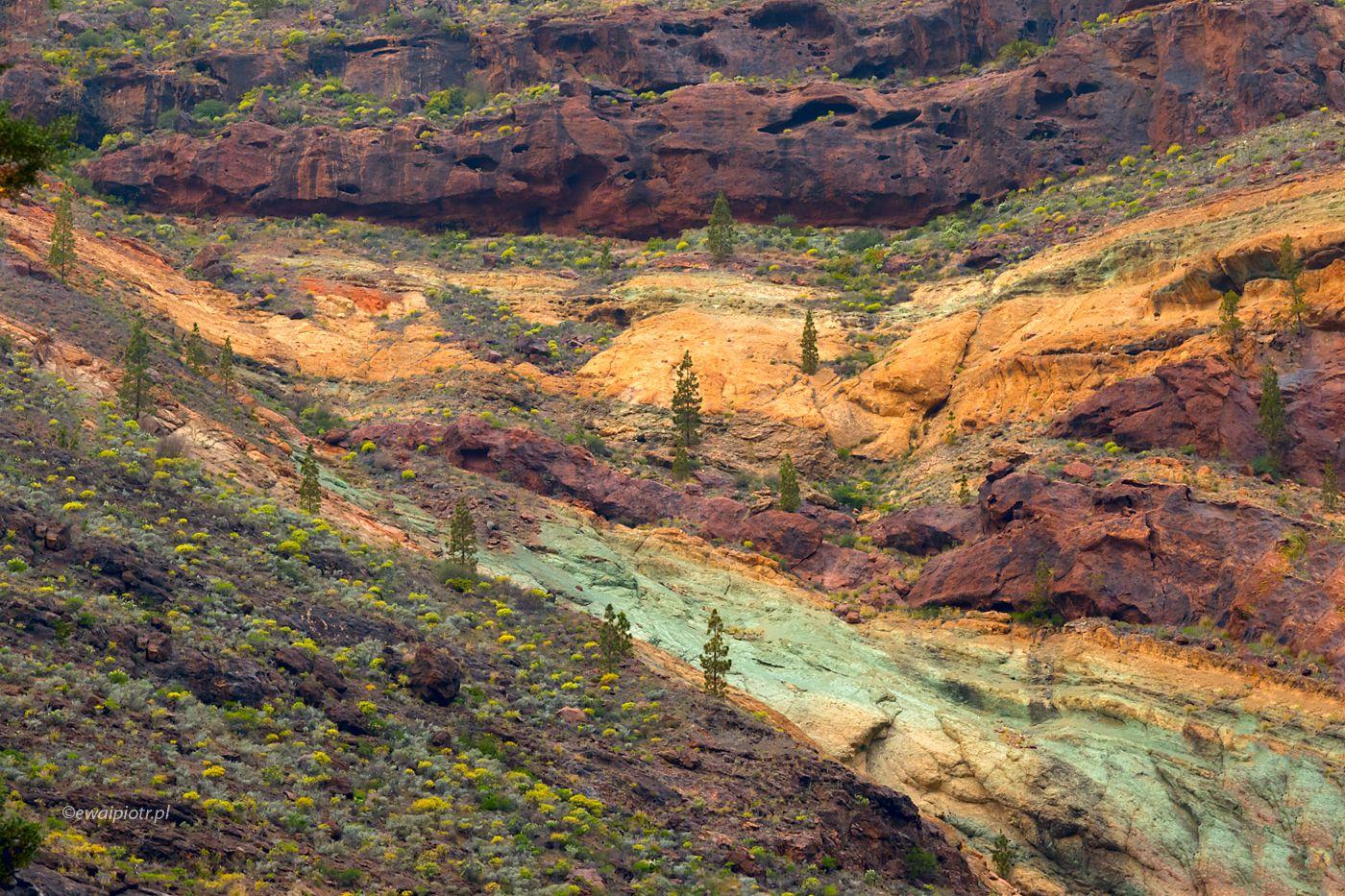 Dolina Azulejos, Wyspy Kanaryjskie
