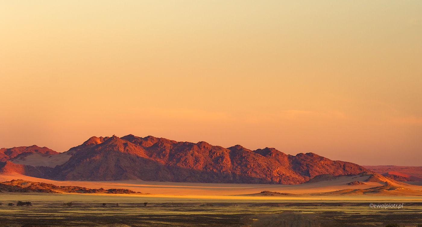 Wieczór w Namibii