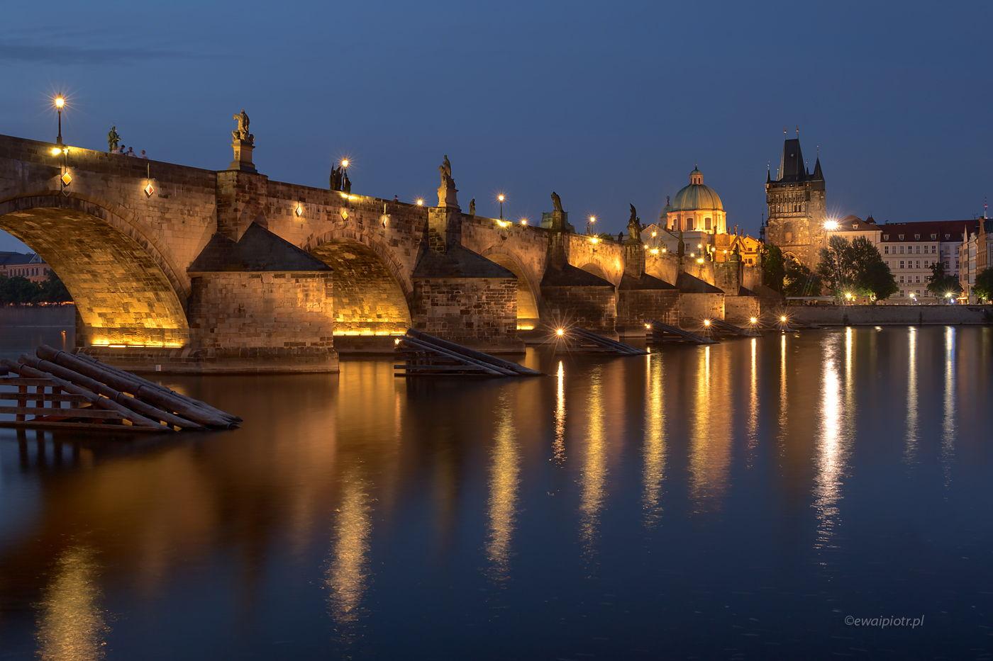 Most Karola o zmierzchu, Praga
