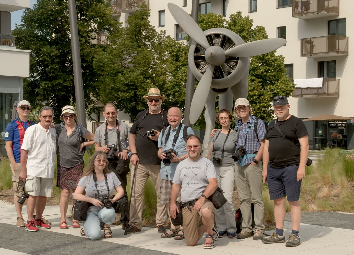 Uczestnicy warsztatów fotograficznych Praga 2021