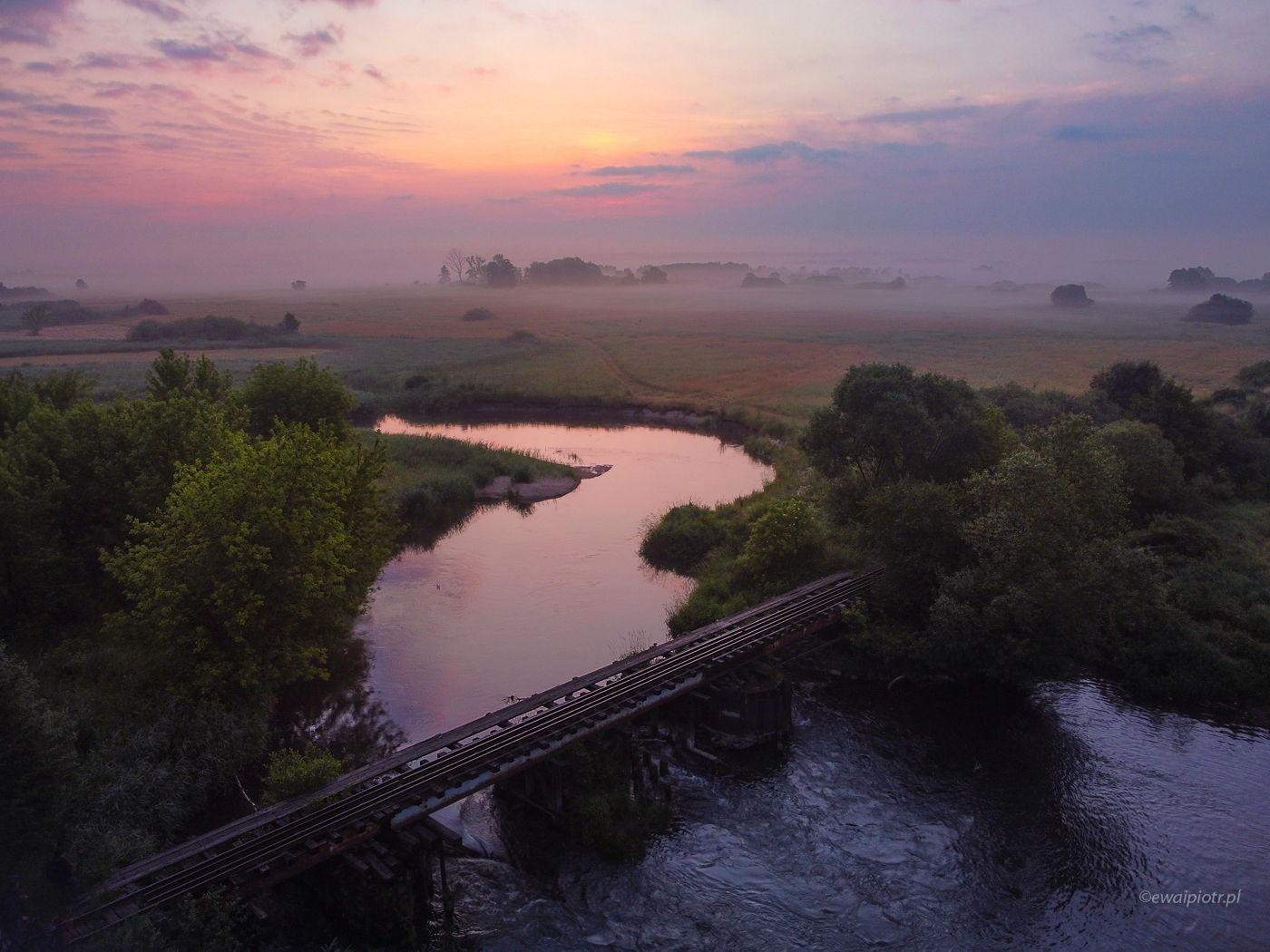 Most na Nidzie, Świętokrzyskie, jak legalnie latać dronem