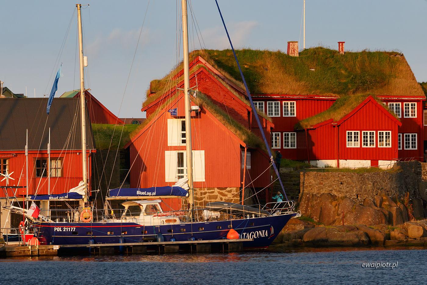 W porcie w Torshavn, Wyspy Owcze