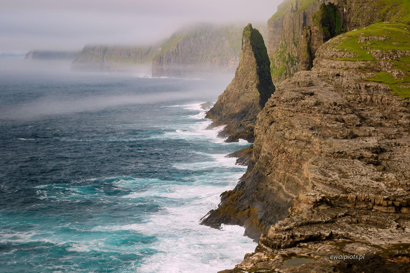 Klify Traelanipan, Wyspy Owcze