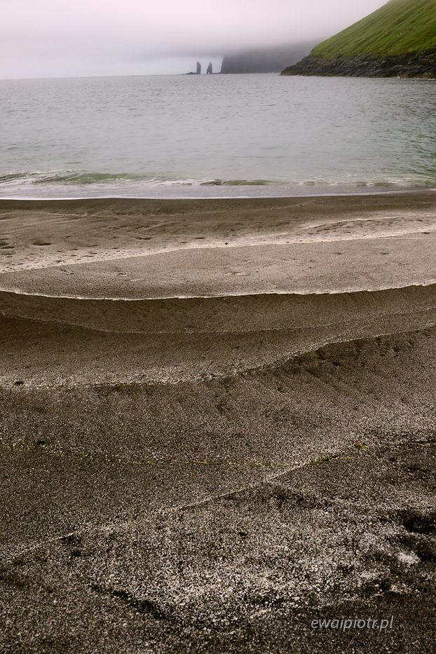 Plaża w Tjornuvik, Wyspy Owcze