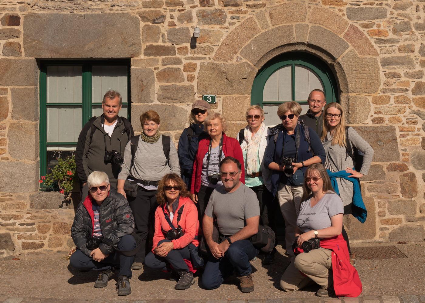 Uczestnicy fotowyprawy do Bretanii - wrzesień 2021