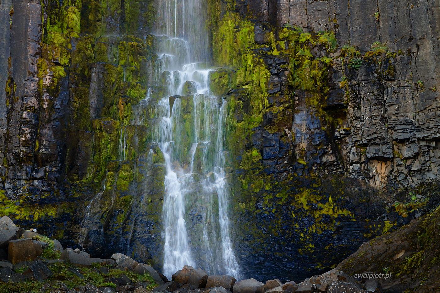Wodospad Studlafoss, Islandia