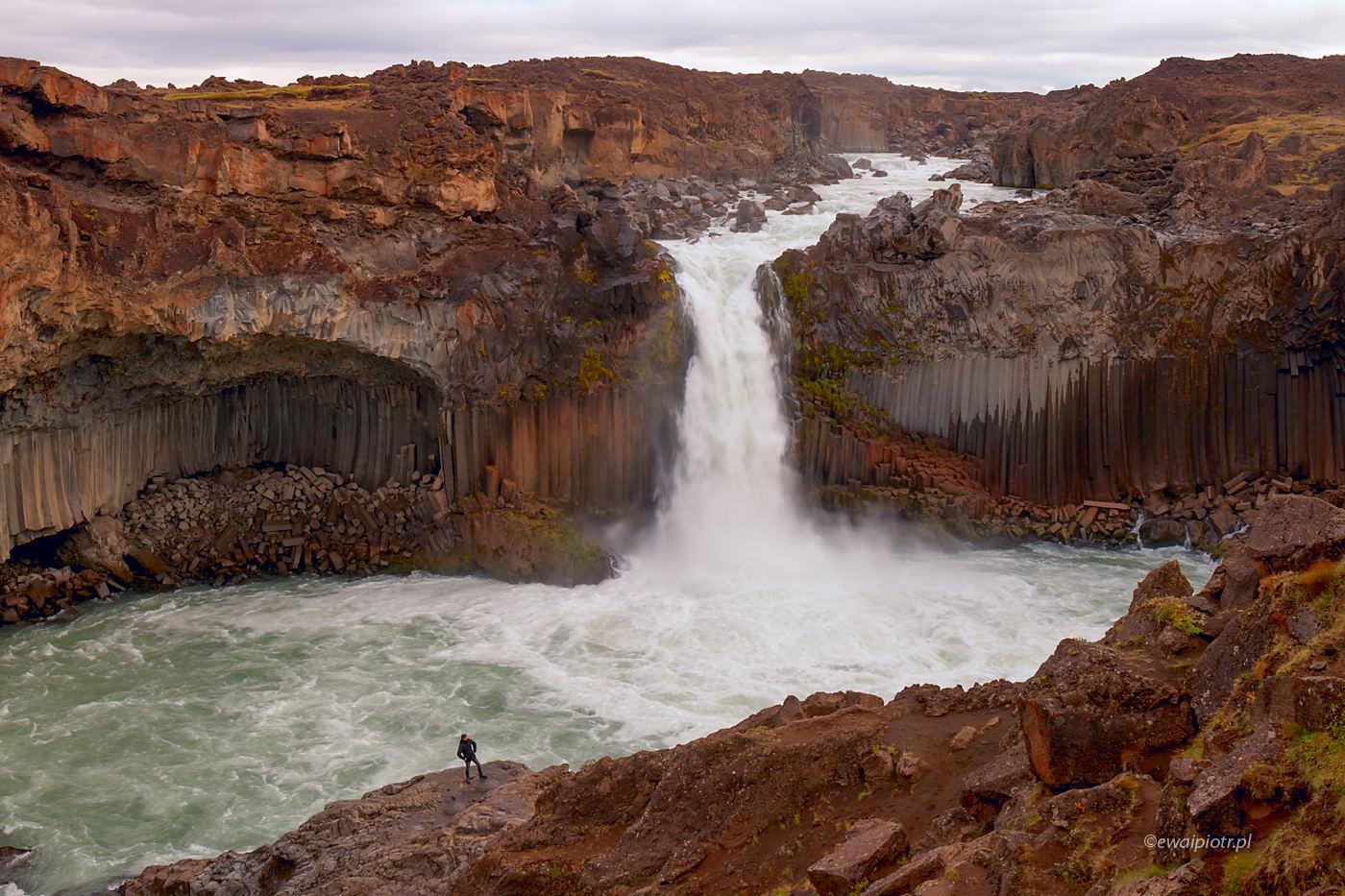 wodospad Aldeyjarfoss, Islandia, taryfa, Ryanair, jak kupić bilet lotniczy dla fotografa