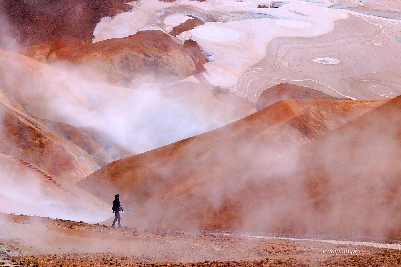 Wśród wzgórz Kerlingarfjoll, Islandia