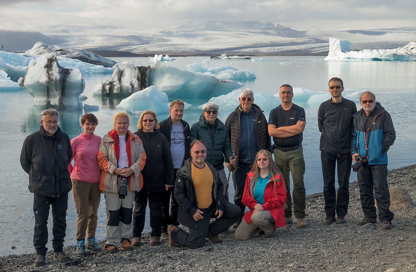 Uczestnicy fotowyprawy na Islandię - wrzesień 2021