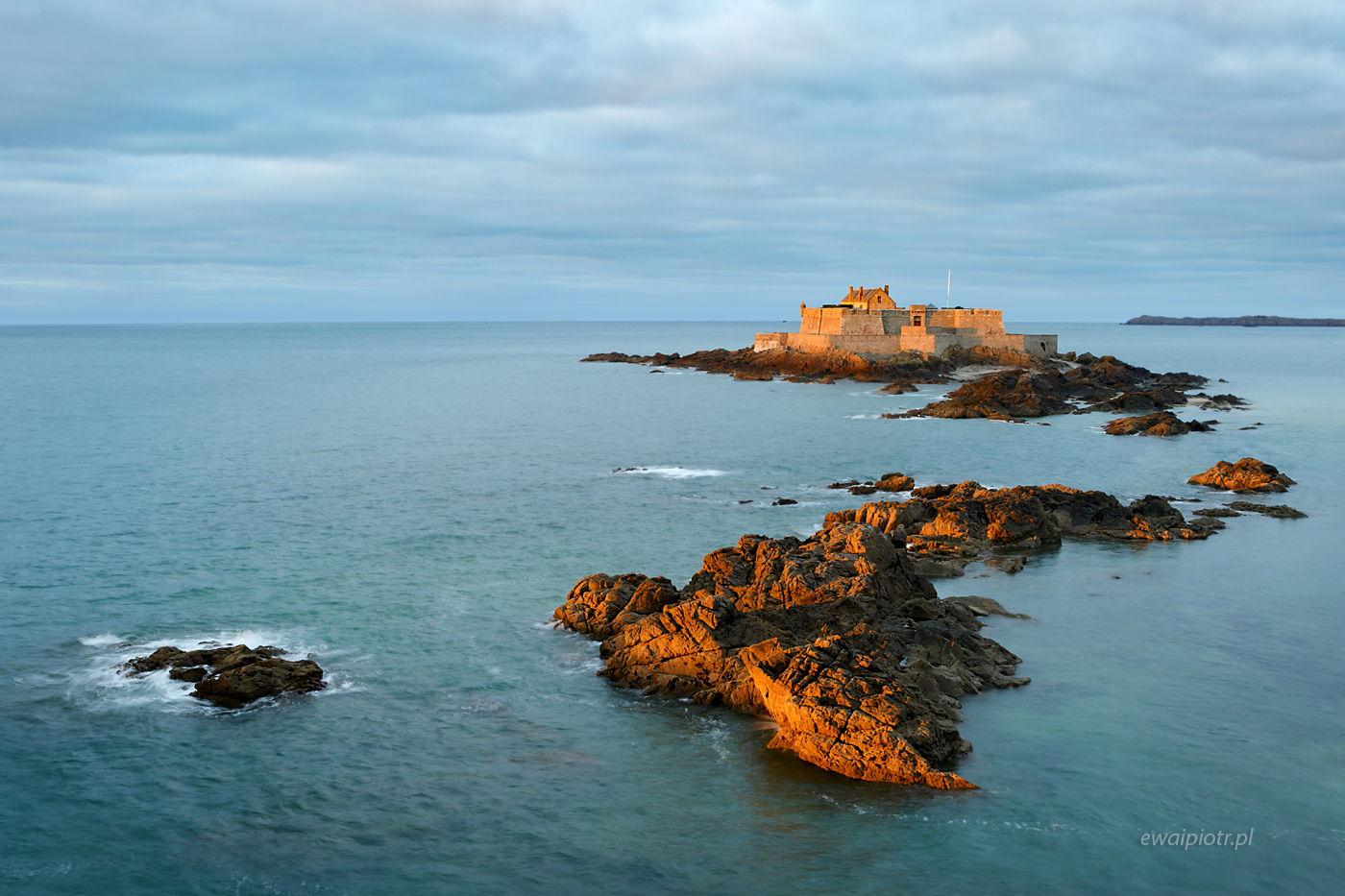 Fort przy Saint Malo, Bretania